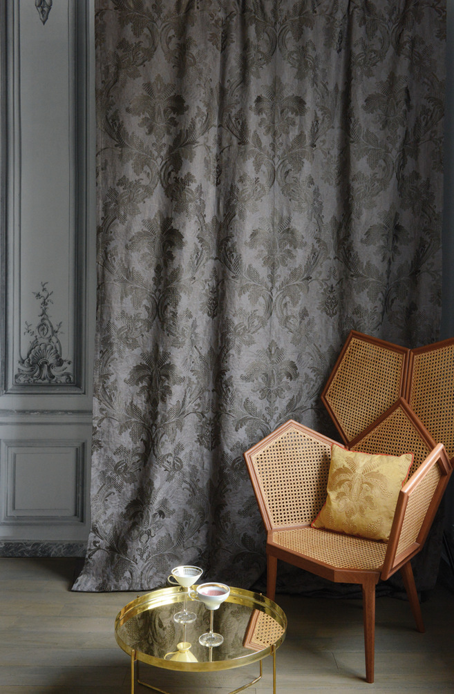 Linen upholstery fabric galliera les classiques collection - Buffet design pas cher ...