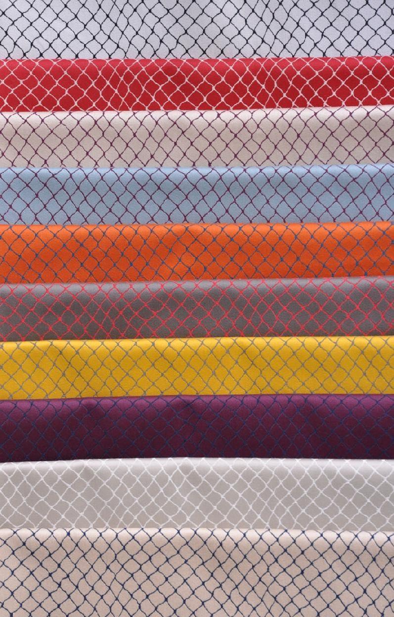 Tissu d 39 ameublement m tallique en coton cabaret by lelievre design jean p - Lelievre tissu ameublement ...