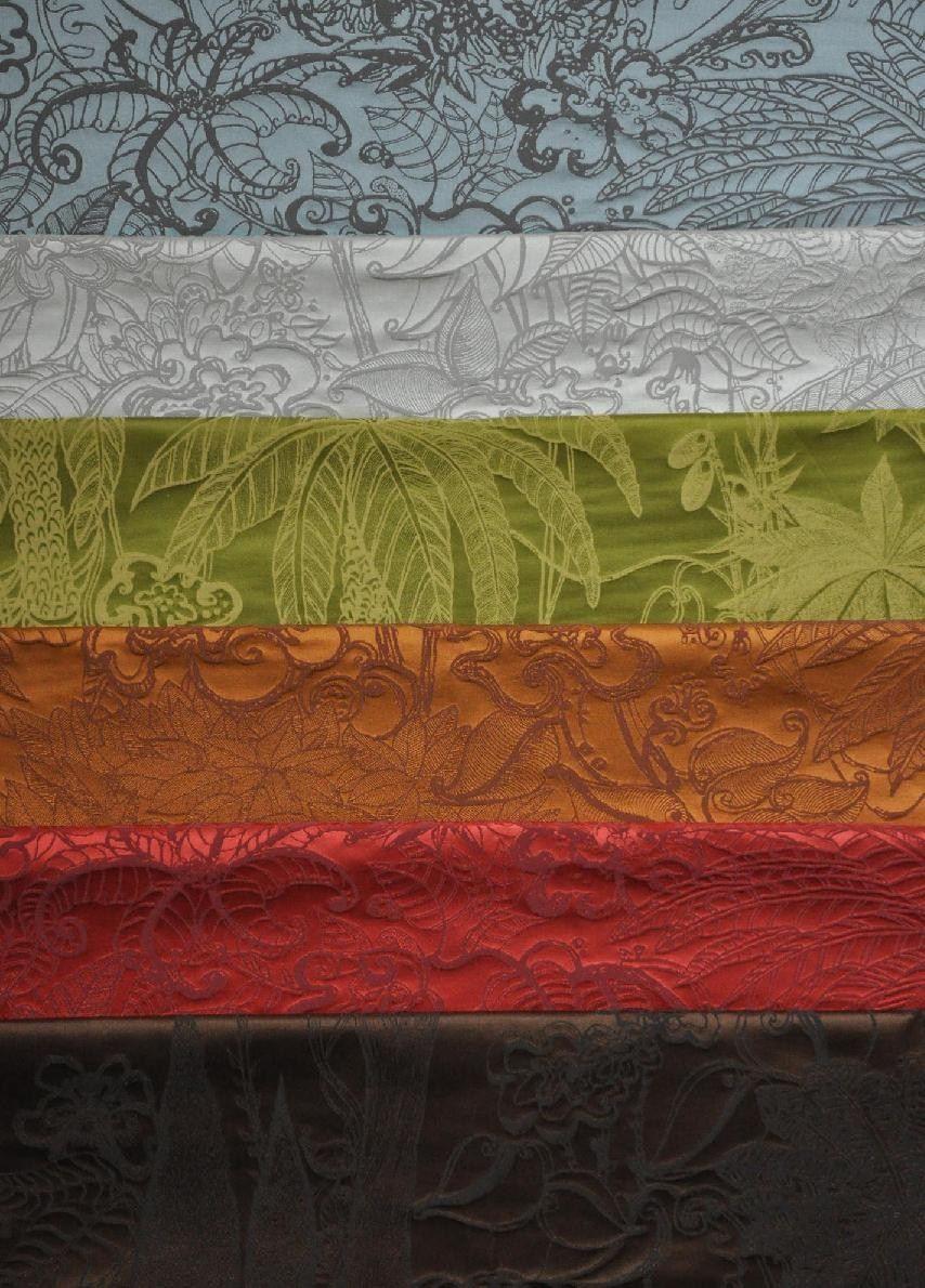 blumen damast stoff aus baumwolle jardin d 39 eden by. Black Bedroom Furniture Sets. Home Design Ideas