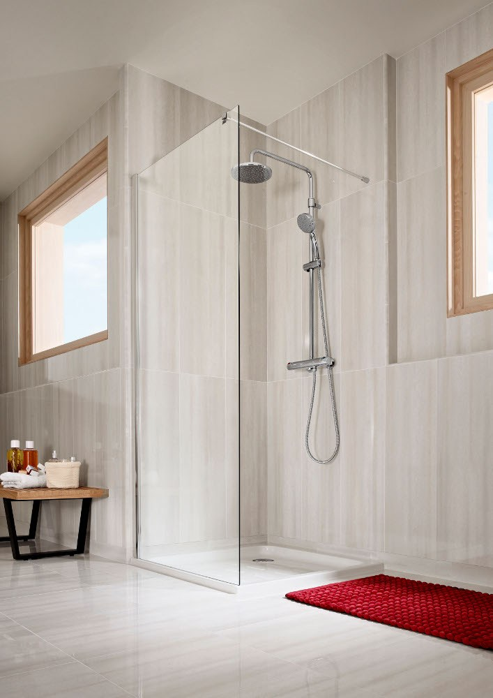 Victoria columna de ducha de pared by roca sanitario - Columnas de ducha termostaticas ...