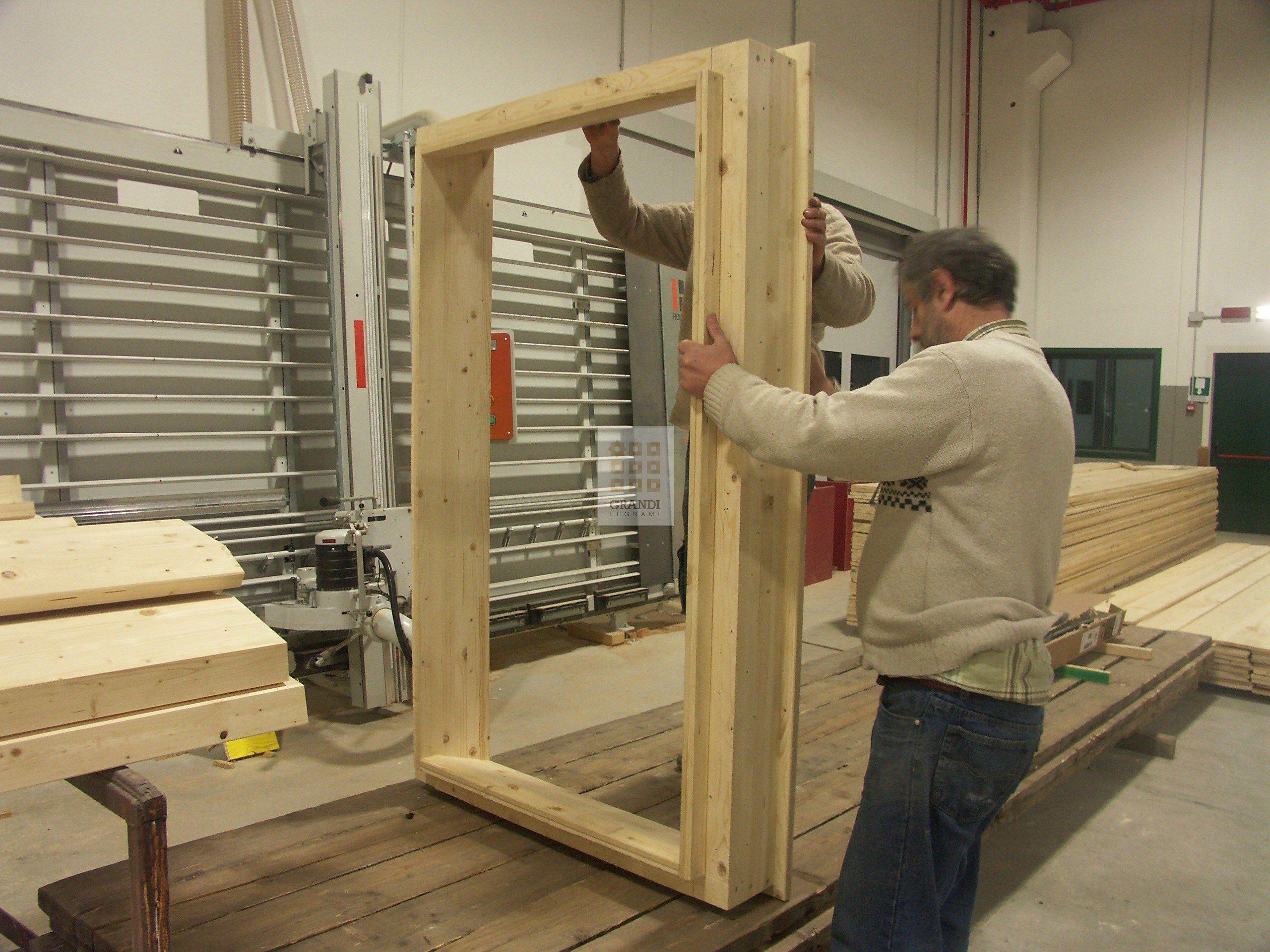 Imbotte strutturale per finestre by grandi legnami - Imbotti in alluminio per finestre ...