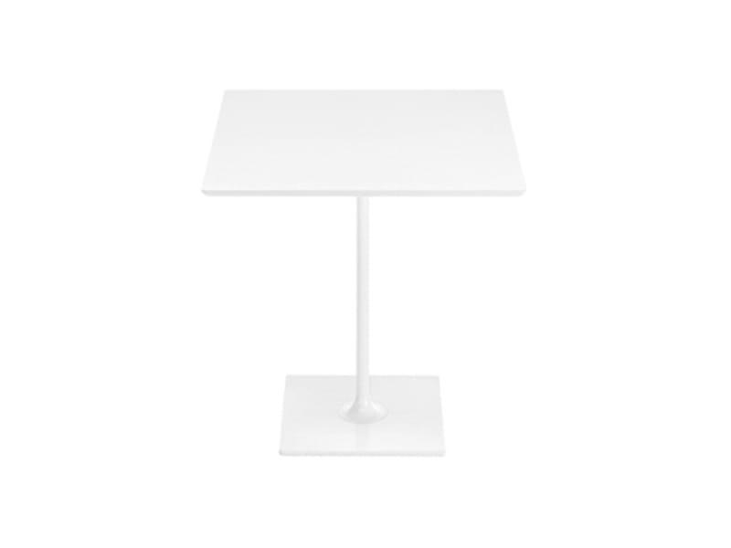 dizzie h 74 quadratischer tisch by arper design lievore. Black Bedroom Furniture Sets. Home Design Ideas