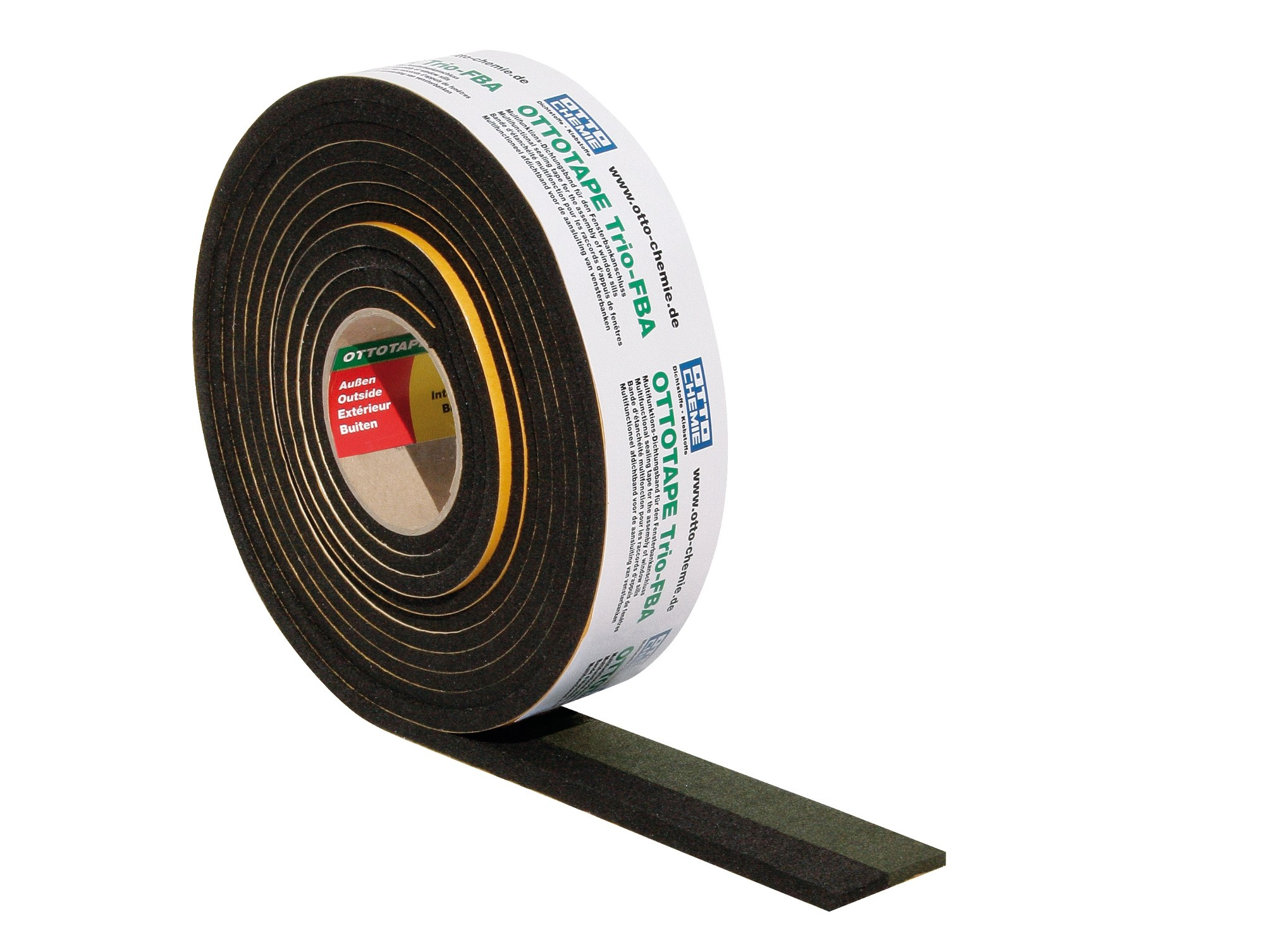 Sealing tape for joining the window sill to window frames OTTOTAPE