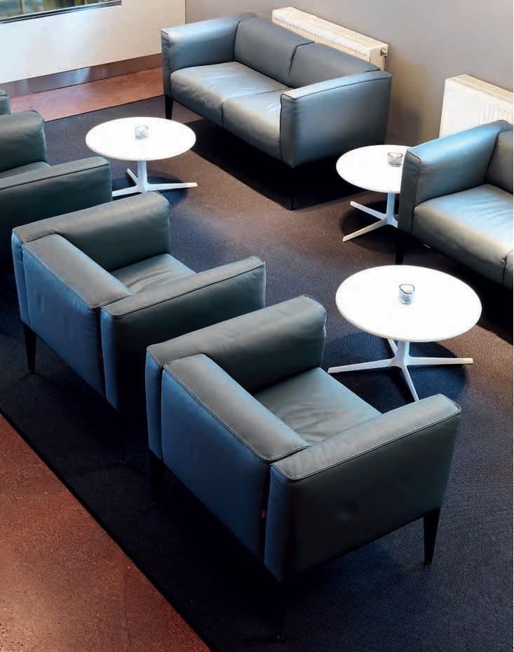 fred h 50 | round coffee tablearper design jean-marie massaud