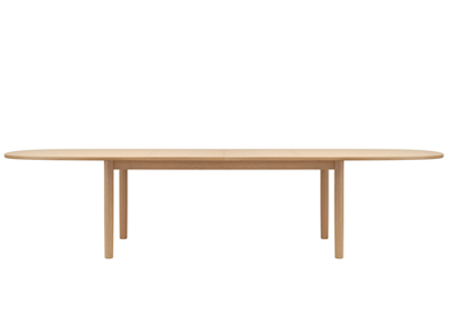 Table extensible ovale en bois 1130 by thonet design for Table ovale extensible bois