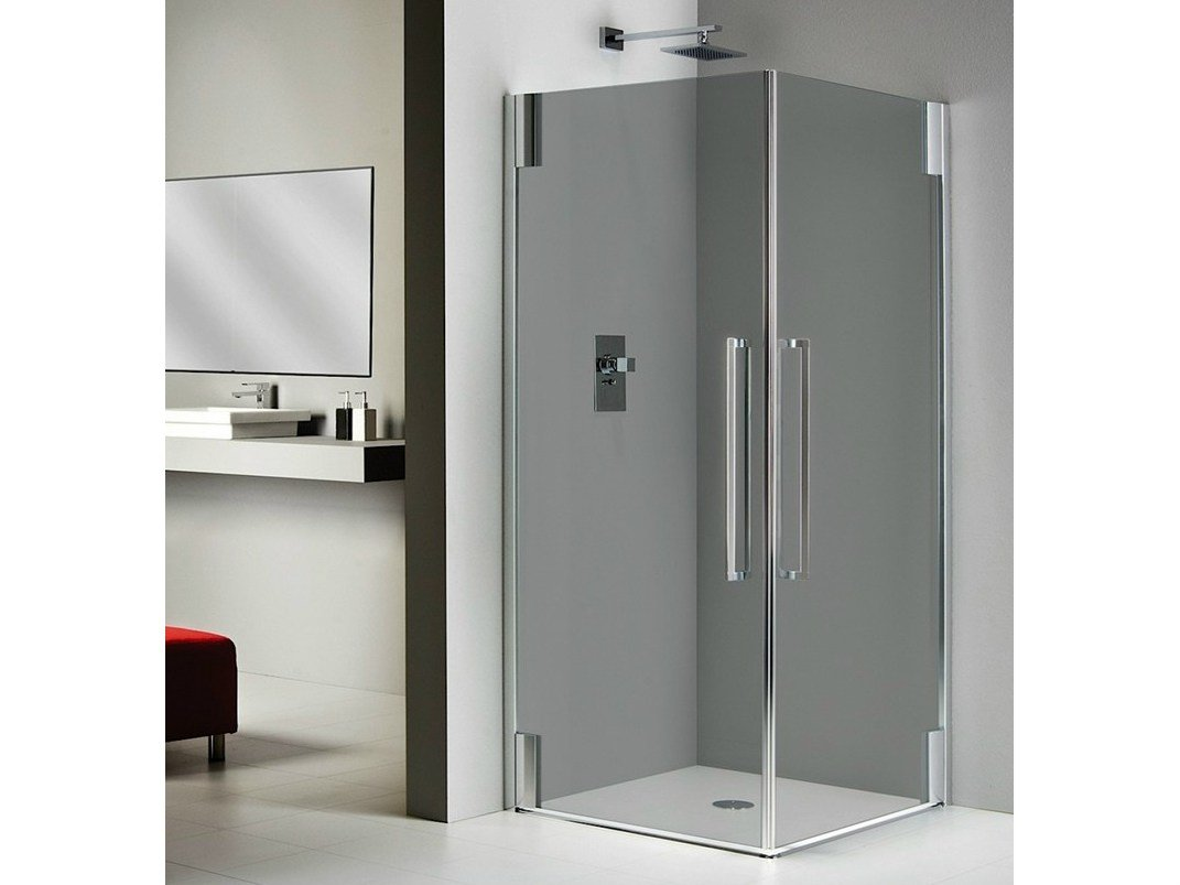 cabine de douche en cristal princess 4000 collection vertica by duka. Black Bedroom Furniture Sets. Home Design Ideas