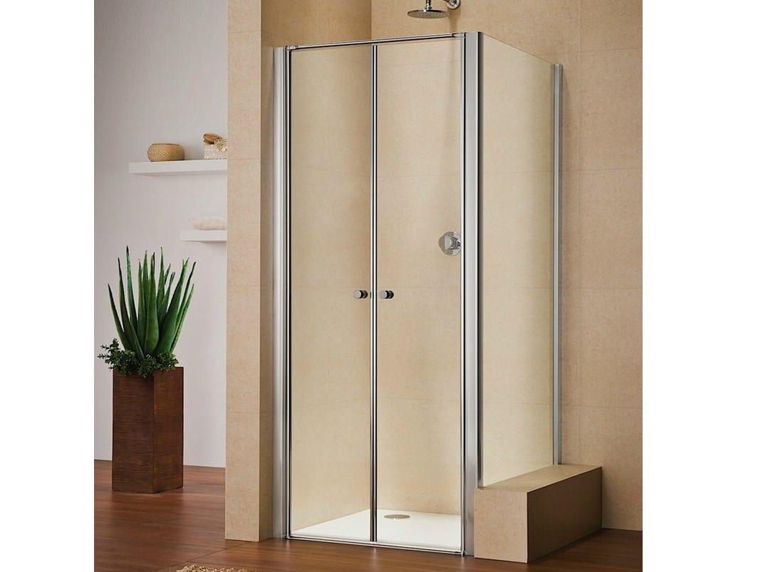 Box doccia in cristallo multi s 4000 by duka for Duka cabine doccia