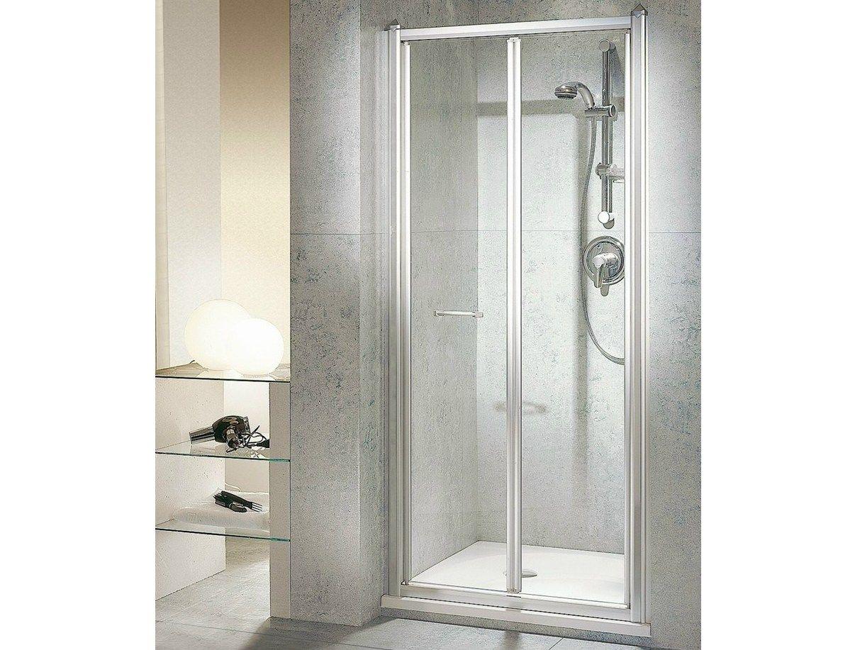 Porta doccia a soffietto per nicchia termosifoni in - Porta a soffietto per doccia ...