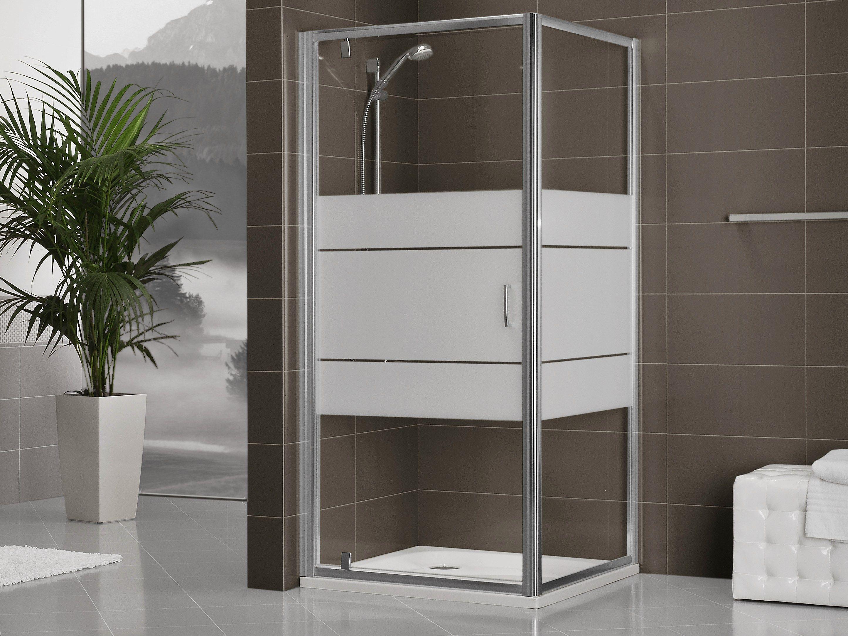 Box doccia in cristallo con porte scorrevoli dukessa s for Box doccia cristallo