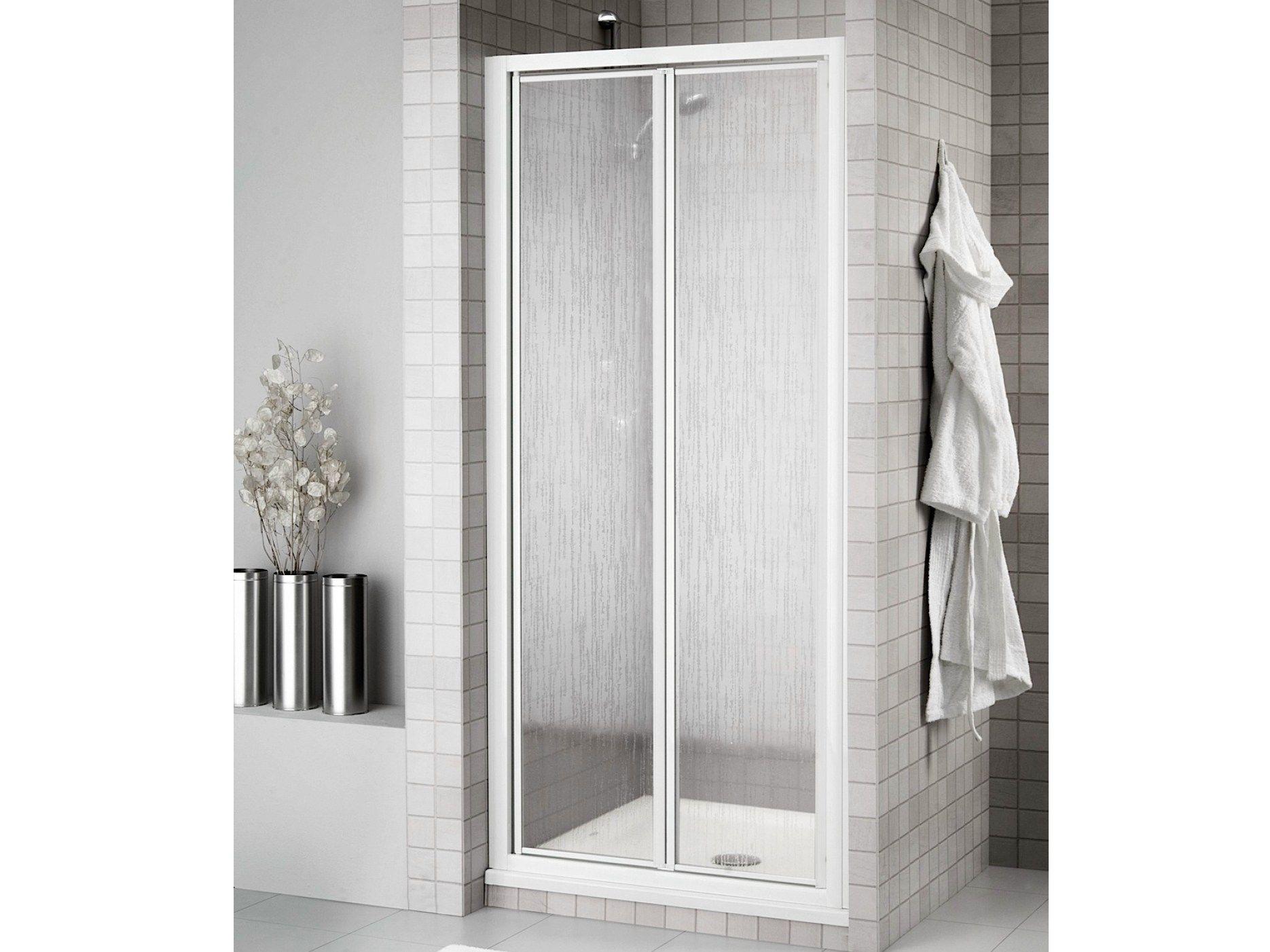 Box doccia a nicchia con porte a soffietto prima 2000 - Porte per docce ...