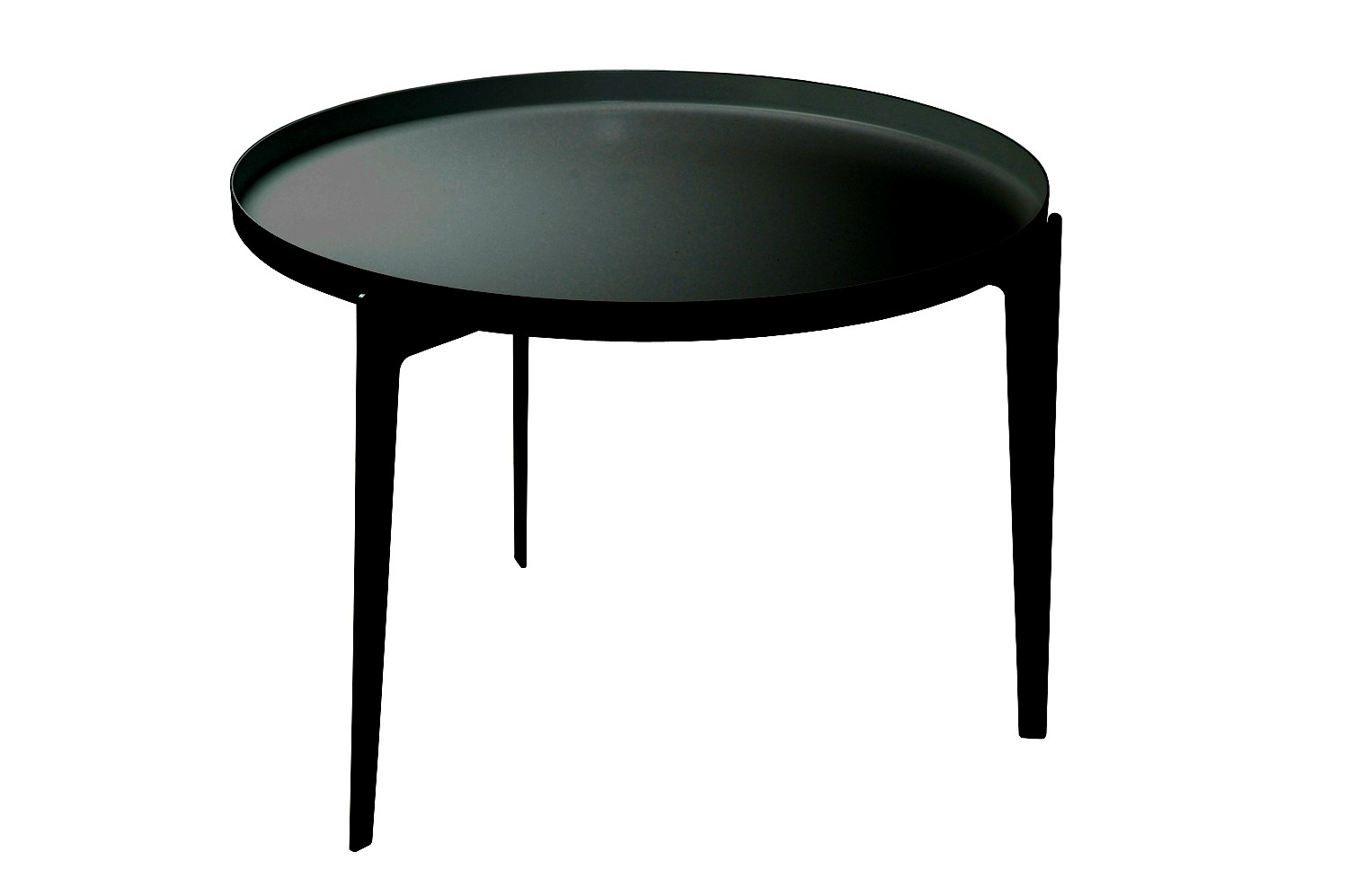 painted metal coffee table tray illusion by covo design. Black Bedroom Furniture Sets. Home Design Ideas