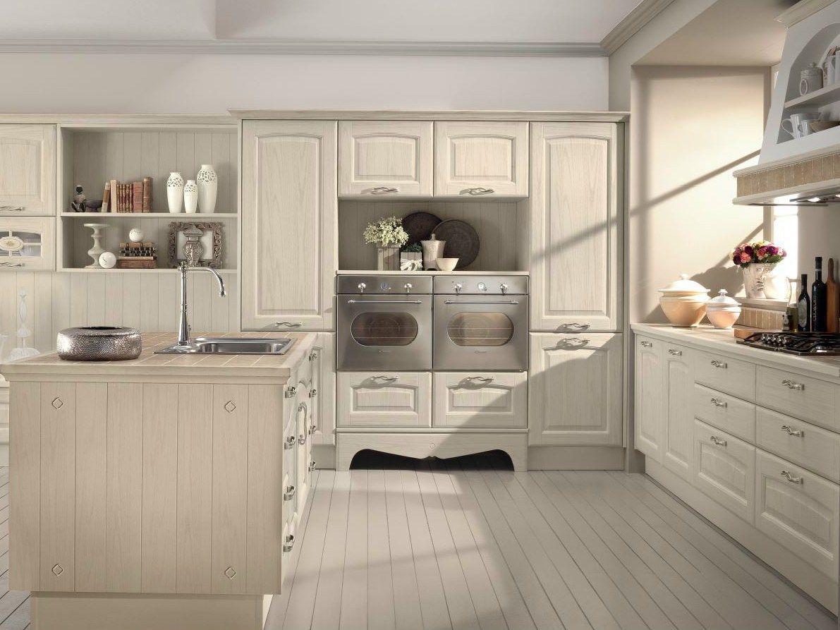 Veronica cucina by cucine lube for Isola cucina legno