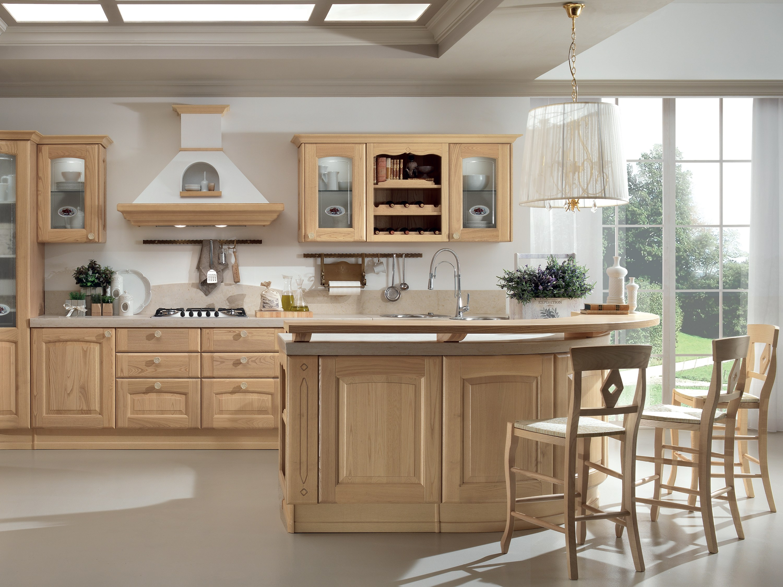 Veronica cucina in castagno by cucine lube - Mobili x cucina ...