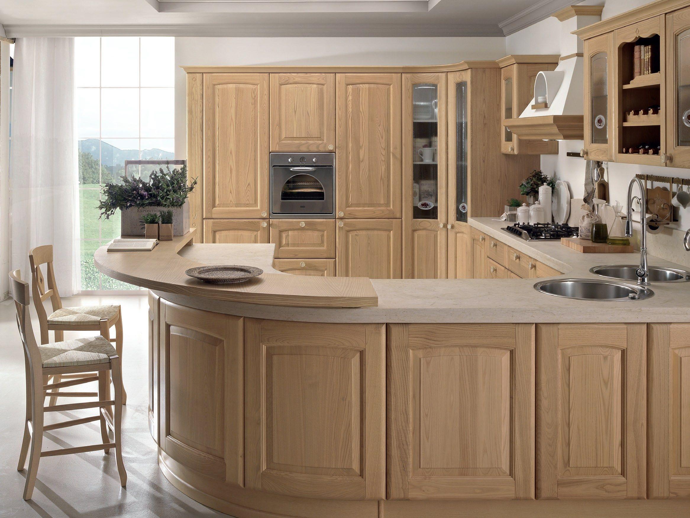 veronica | cucina in castagno by cucine lube - Prezzi Cucina Lube