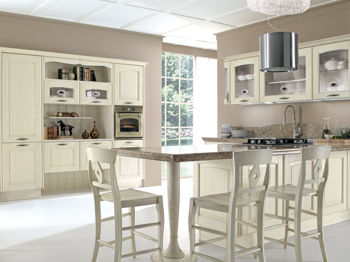 Cucina Decapata In Frassino VERONICA Cucina Decapata Cucine Lube #5D4E3F 1185 889 Cucine Contemporanee S.r.l