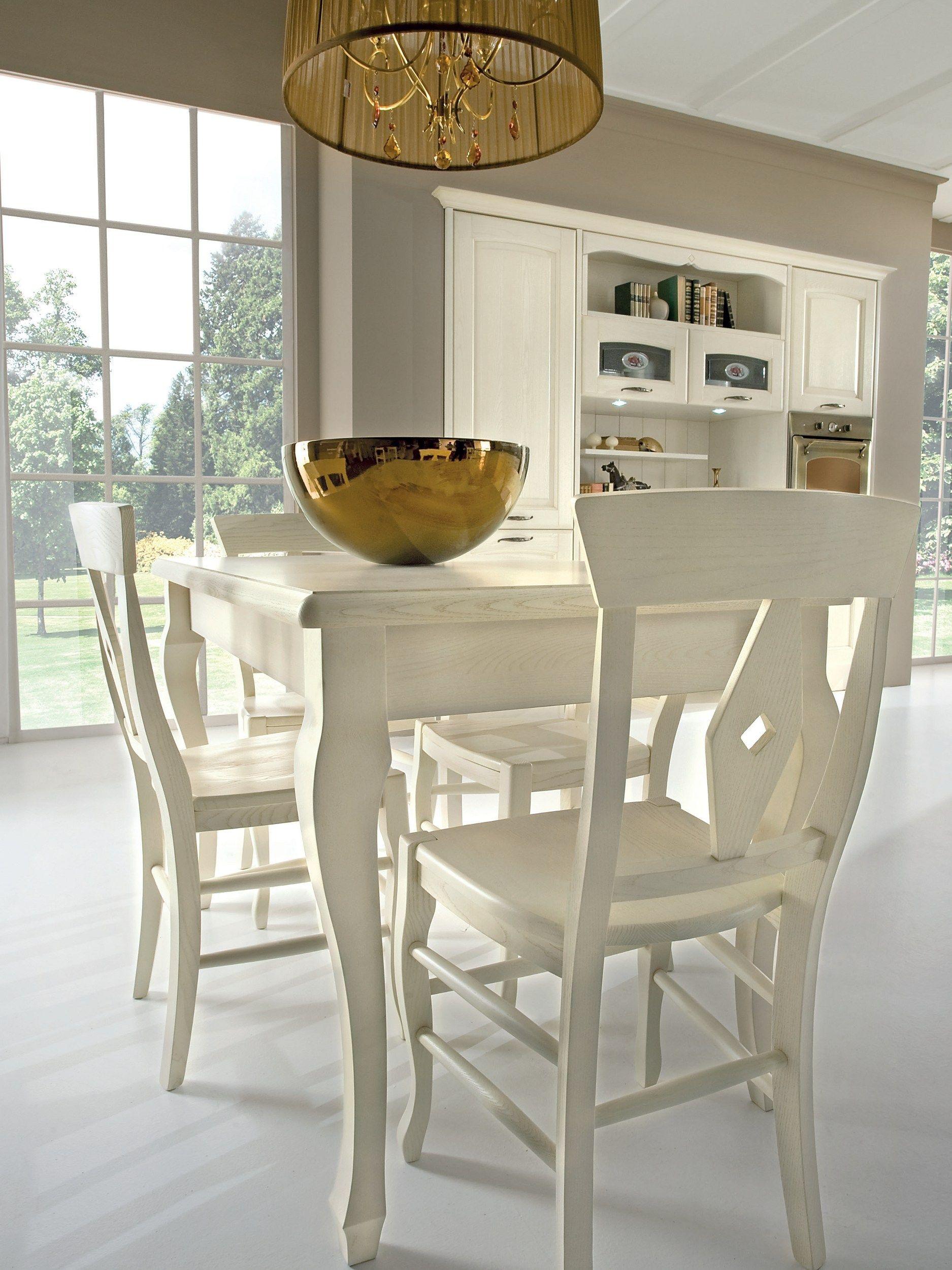 Veronica cucina decapata by cucine lube - Lube tavoli e sedie prezzi ...