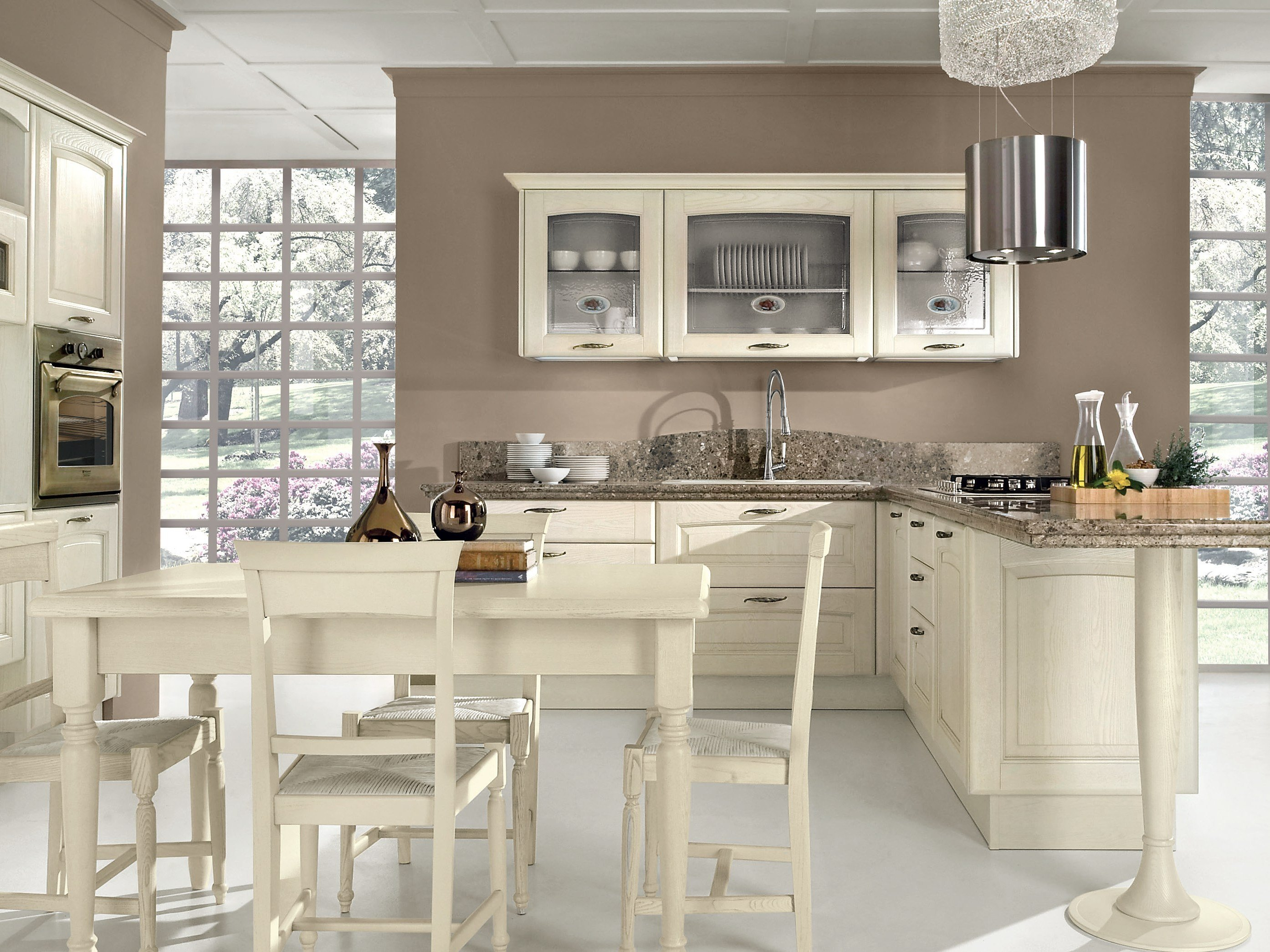 Veronica decap kitchen by cucine lube - Cucine shabby chic ...