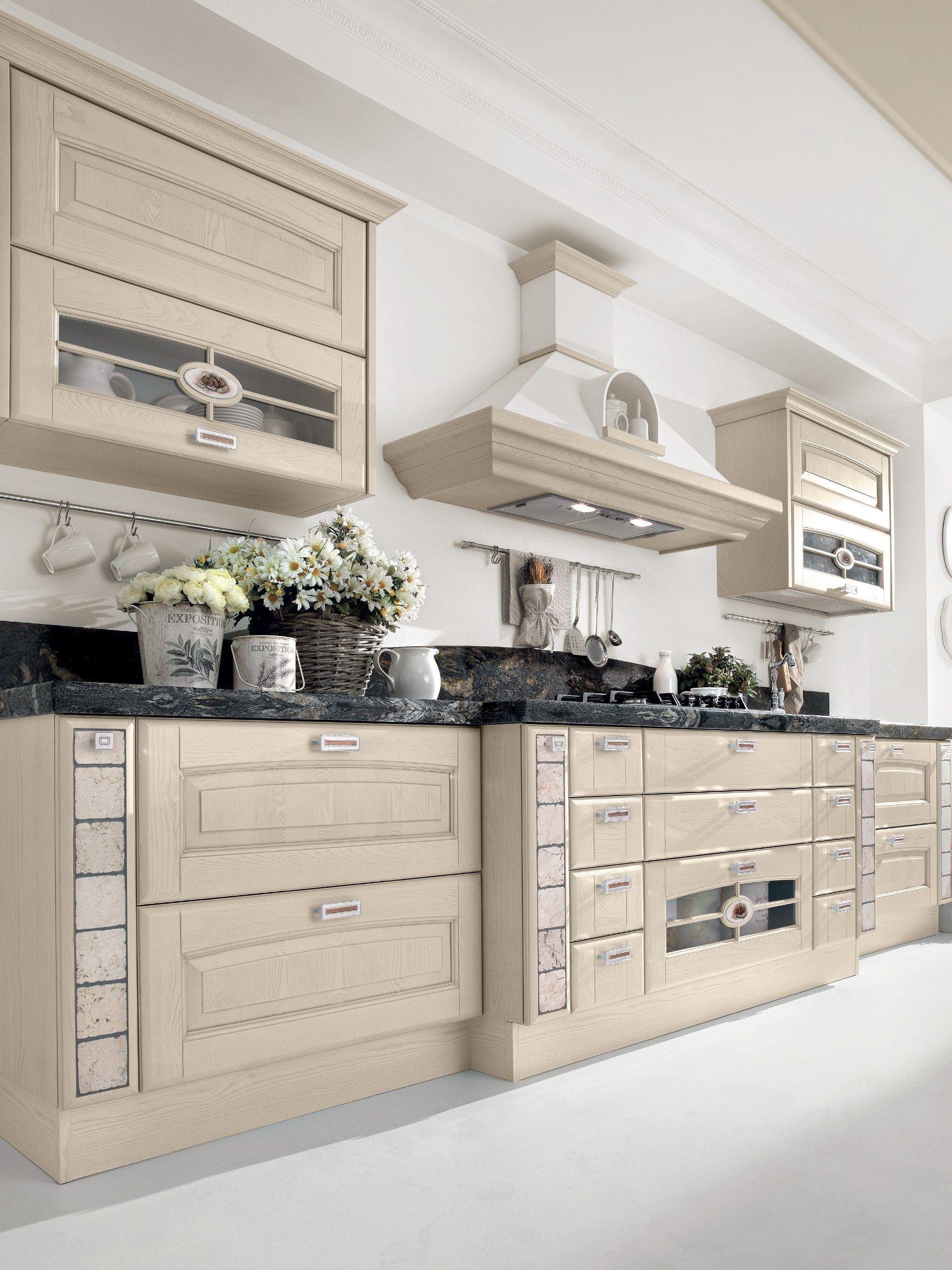 Veronica cucina in frassino by cucine lube - Maniglie cucina prezzi ...