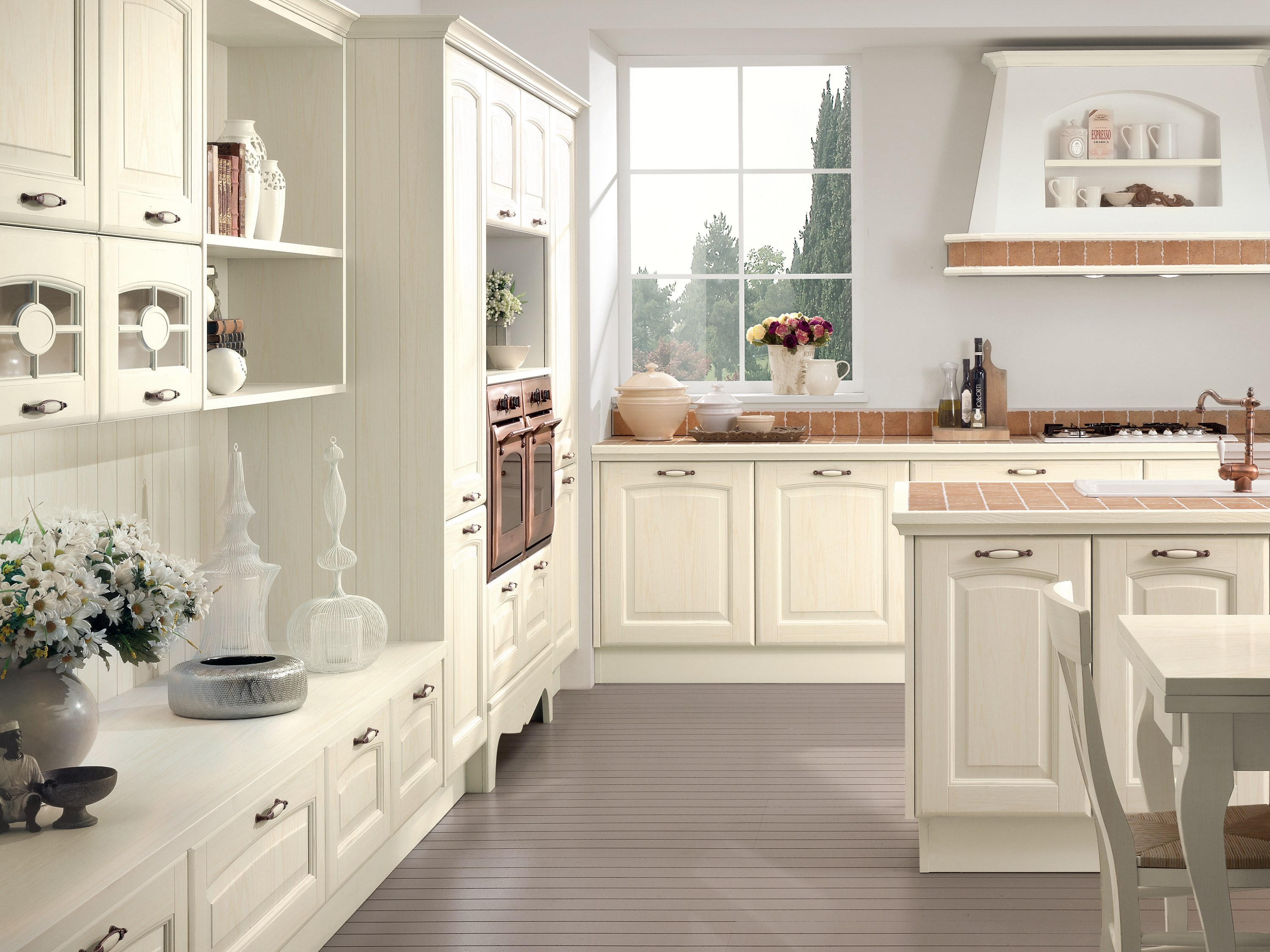 Veronica cucina con isola by cucine lube - Belles cuisines traditionnelles ...