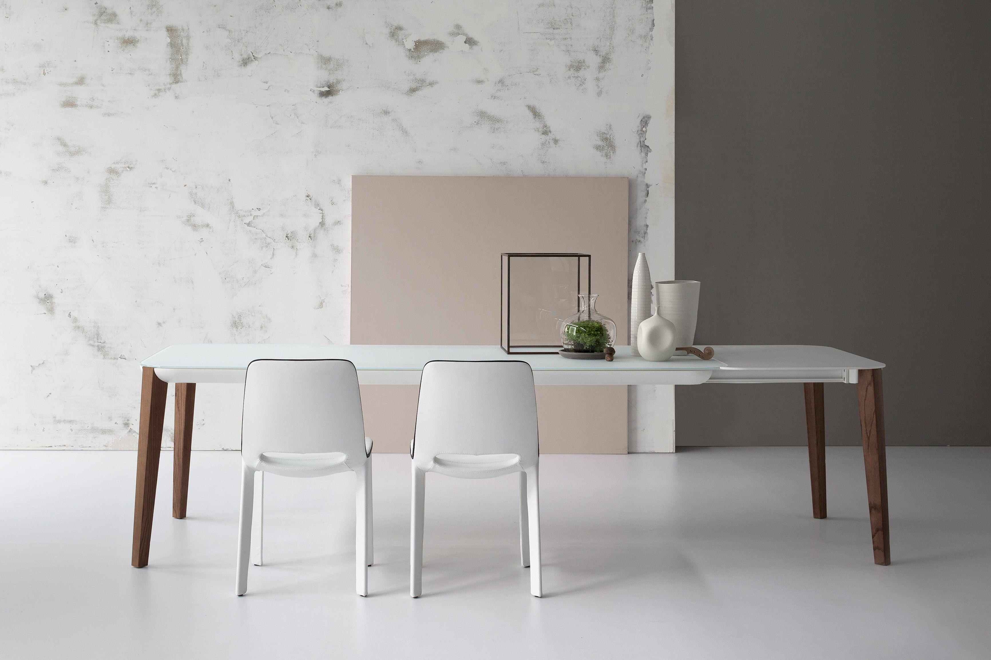 Table Extensible Rectangulaire Match By Bonaldo Design