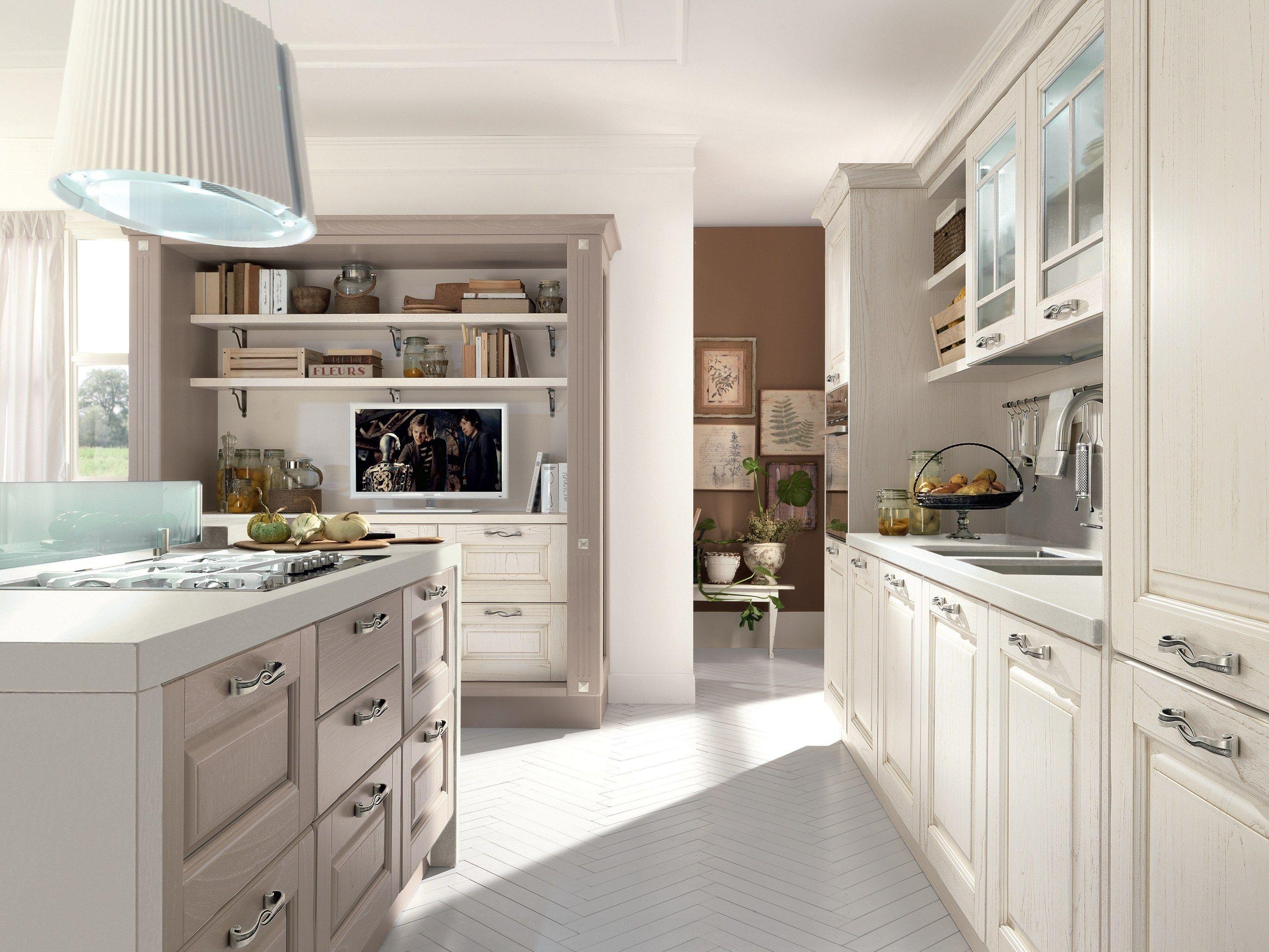 Cucine moderne con bancone ys22 regardsdefemmes - Cucine con isola centrale ...