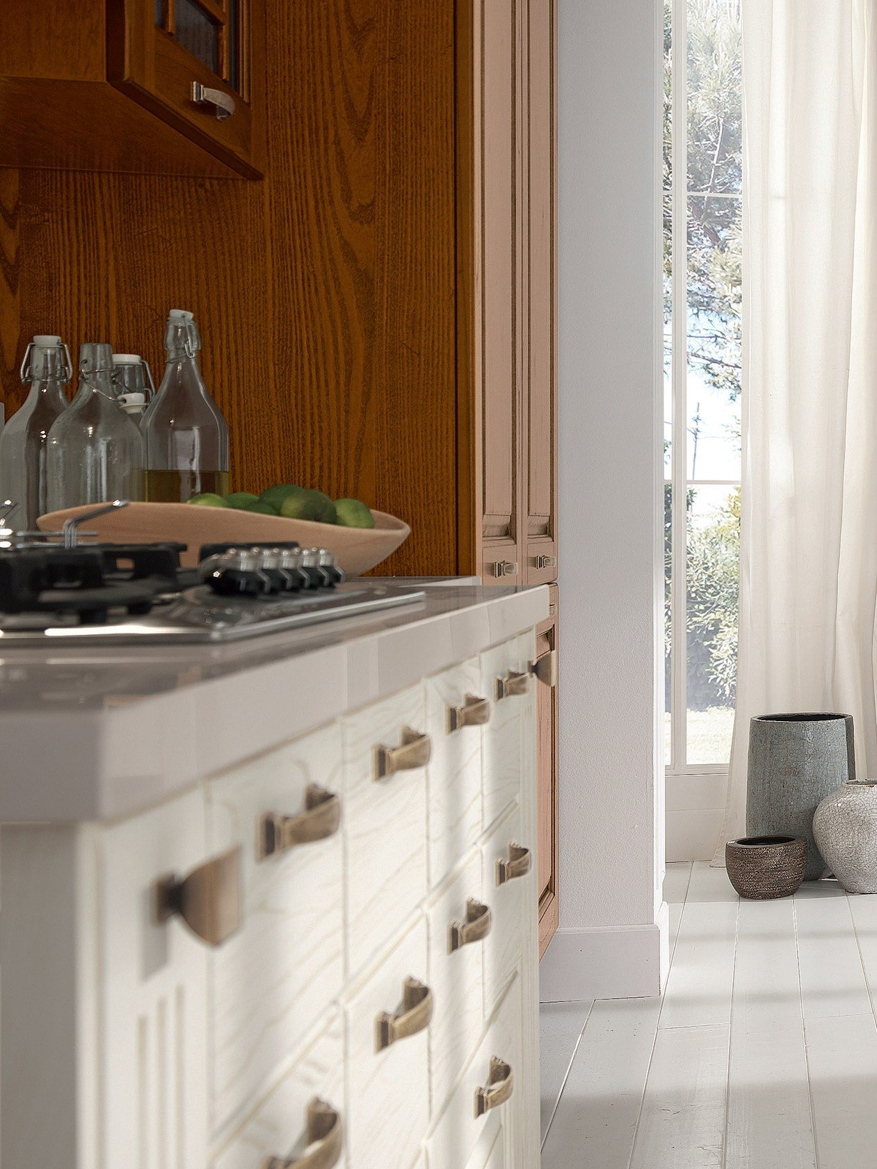 laura | wooden kitchen by cucine lube - Cucina Laura Lube