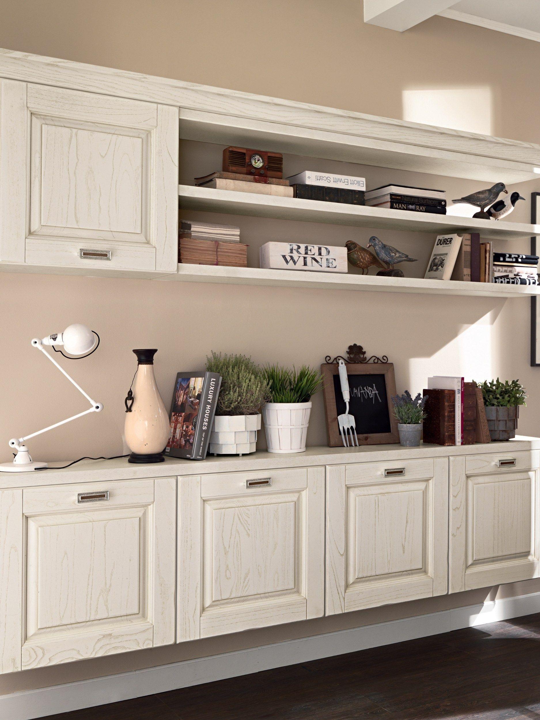 laura parete attrezzata in legno by cucine lube