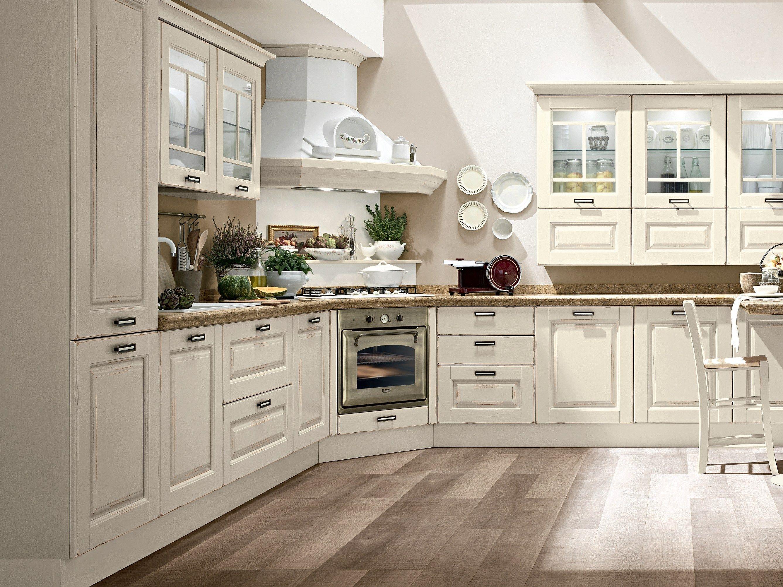 laura wooden kitchen by cucine lube. Black Bedroom Furniture Sets. Home Design Ideas