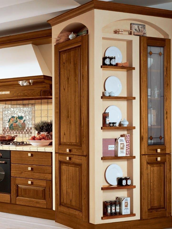 laura walnut kitchen by cucine lube