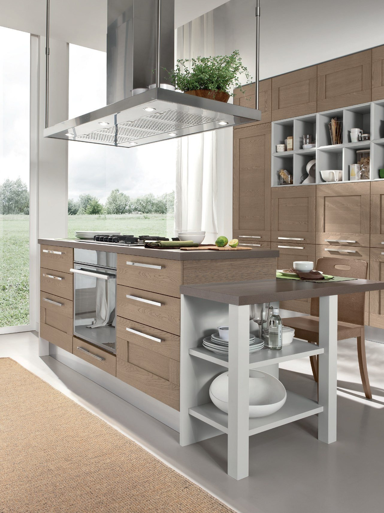 gallery kitchen by cucine lube