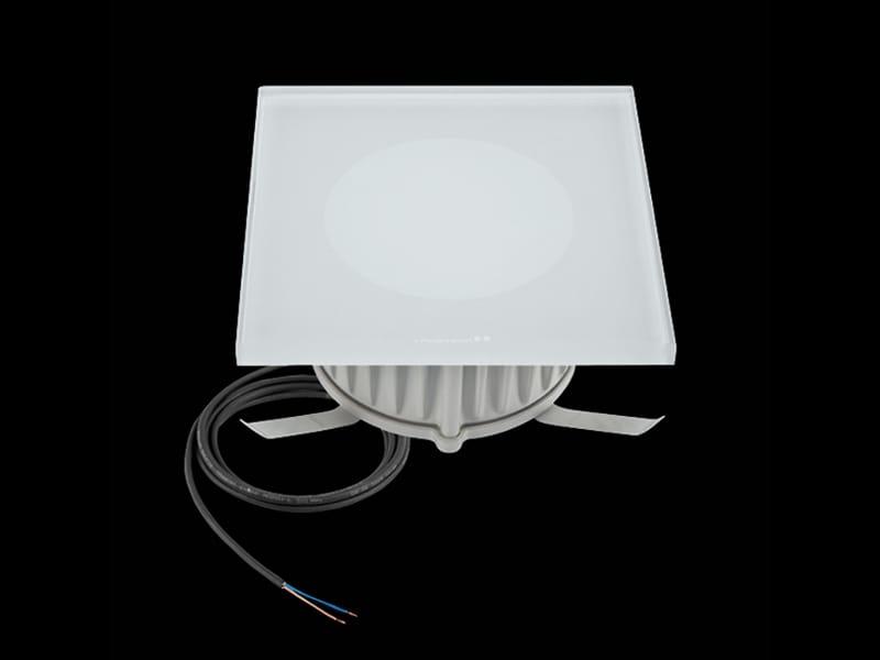 Faretto a LED per pavimento STILE NEXT ZERO POWER 120Q by Lombardo design Daniele Fenaroli ...