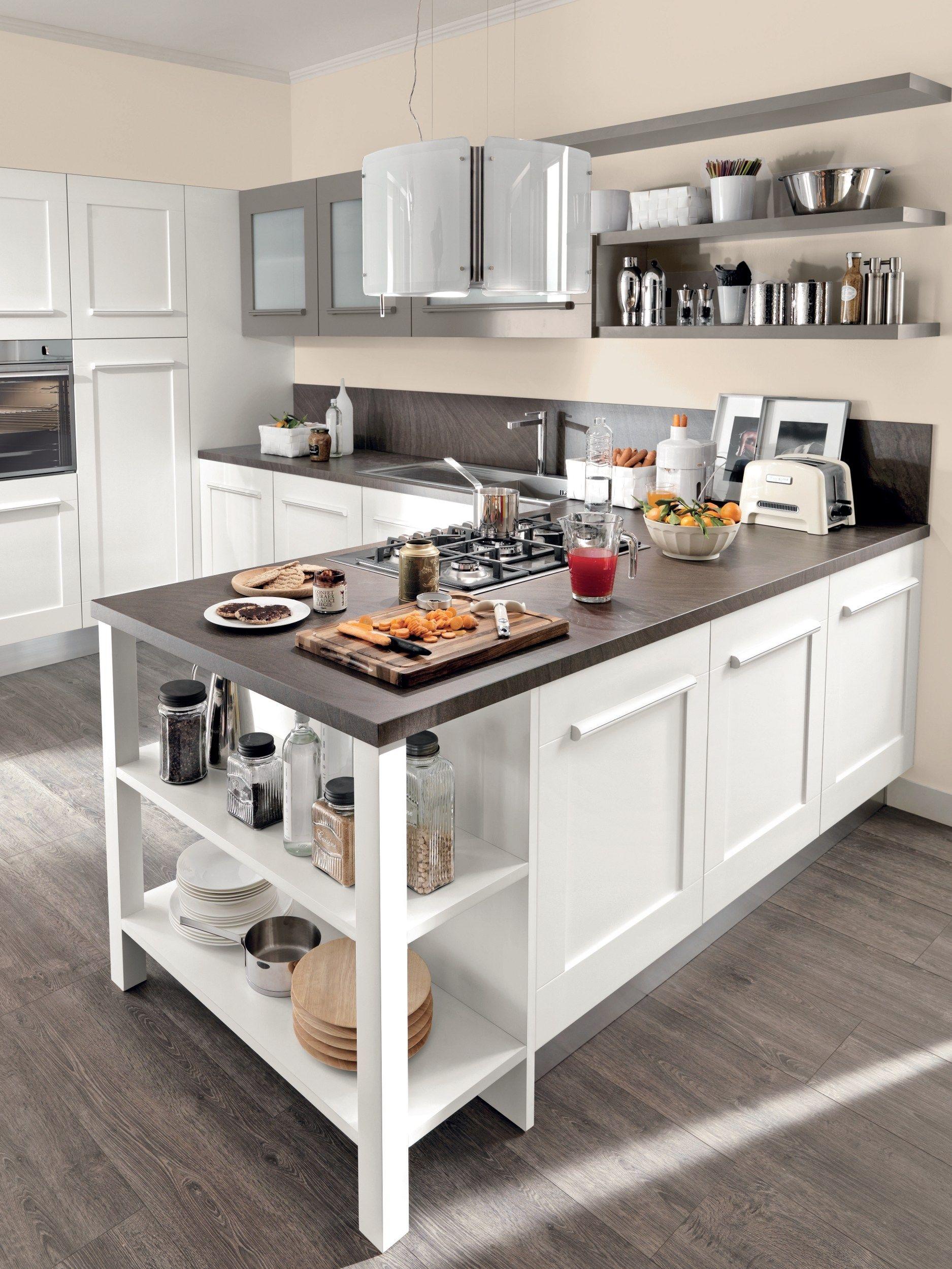 Gallery cucina con maniglie integrate by cucine lube for Maniglie cucina lube