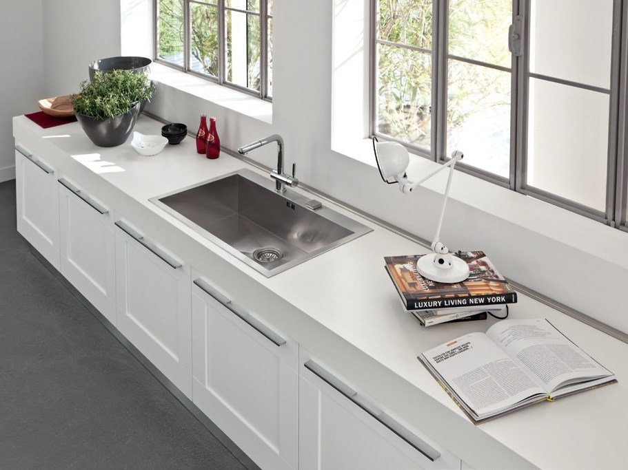 gallery | kitchen with island by cucine lube - Top Cucine Lube
