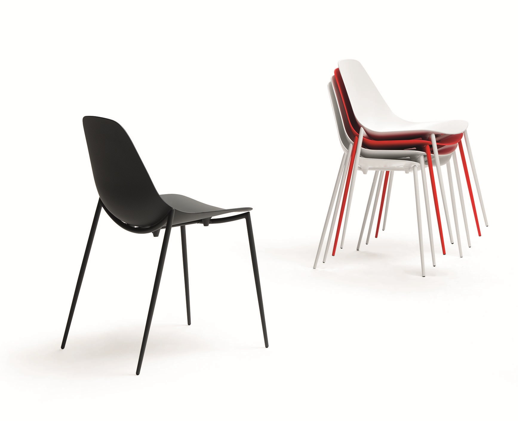 Chaises empilables - Chaises empilables design ...