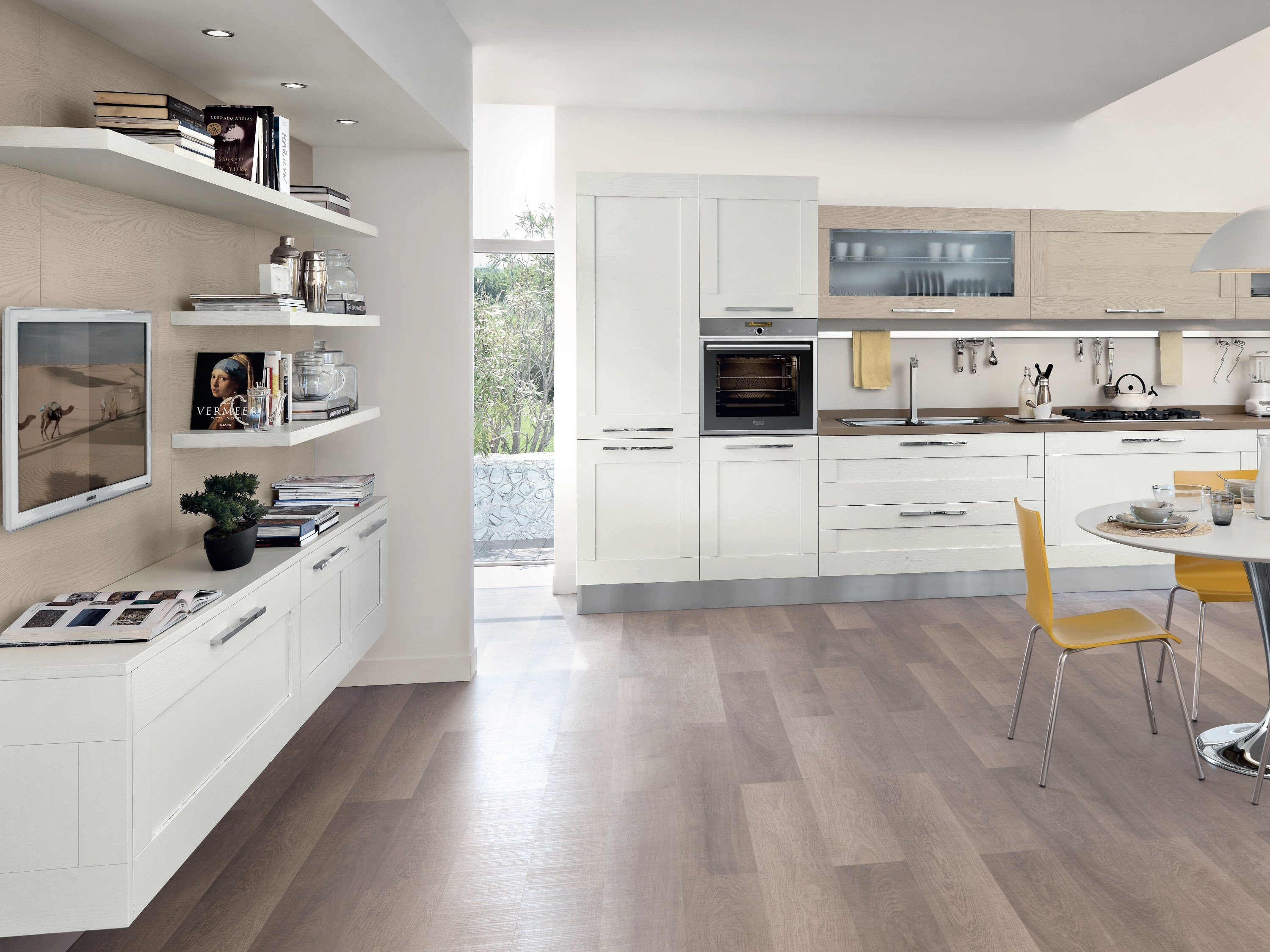 GALLERY Cucina in frassino by Cucine Lube