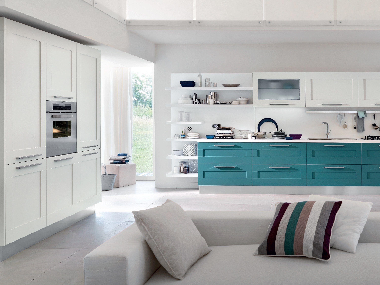 Gallery cucina laccata by cucine lube - Maniglie cucina ...