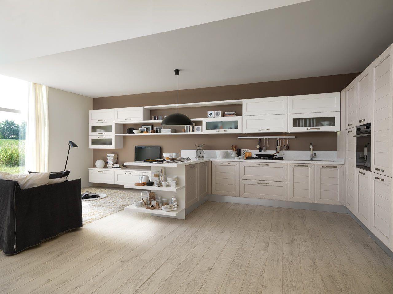 Cucine Classiche Con Isola Lube : Cucine a gas vecchio stile. Cucine a ...