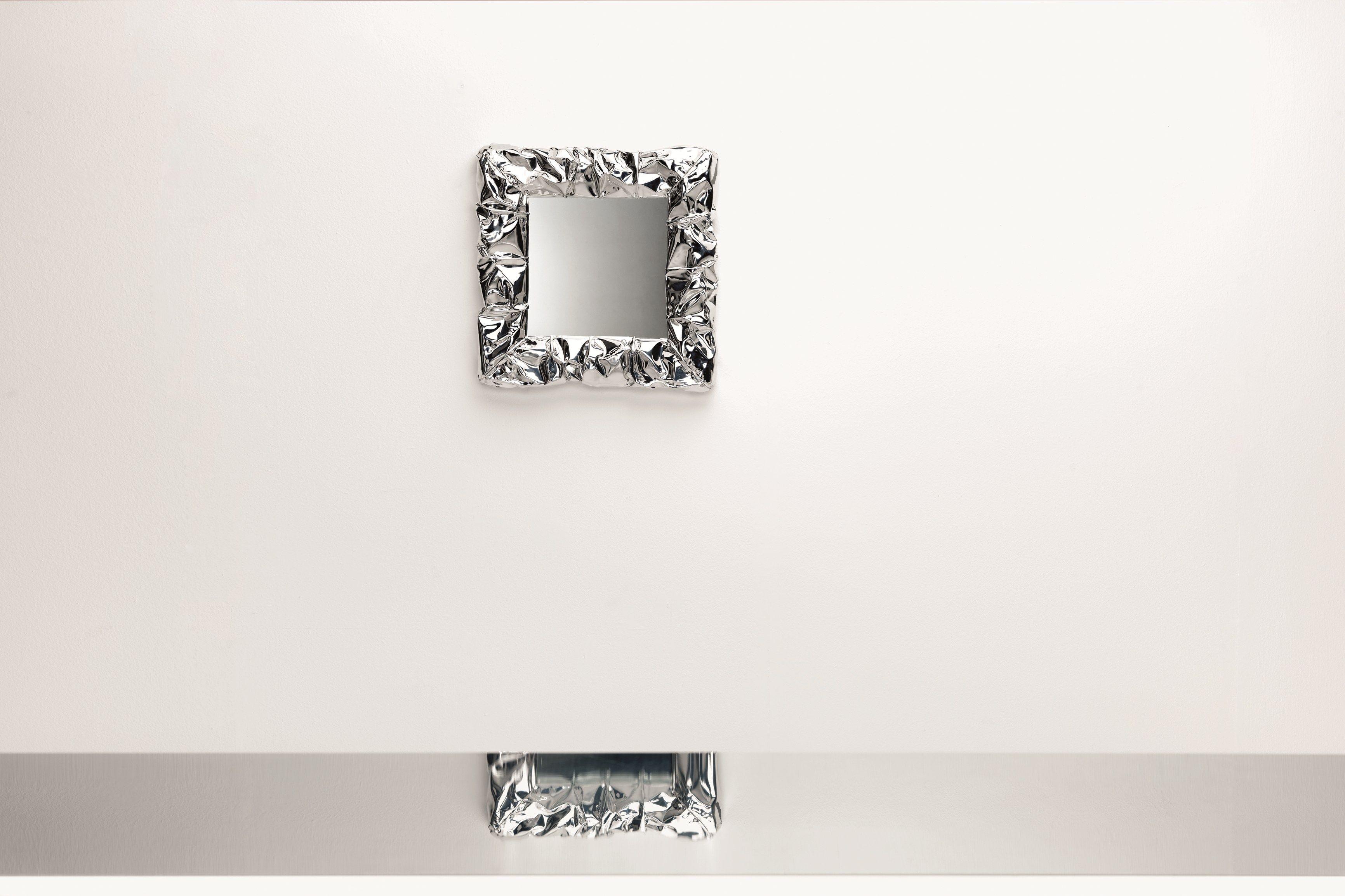 Miroir mural avec cadre tab u mirror micro by opinion - Cadre photo mural design ...