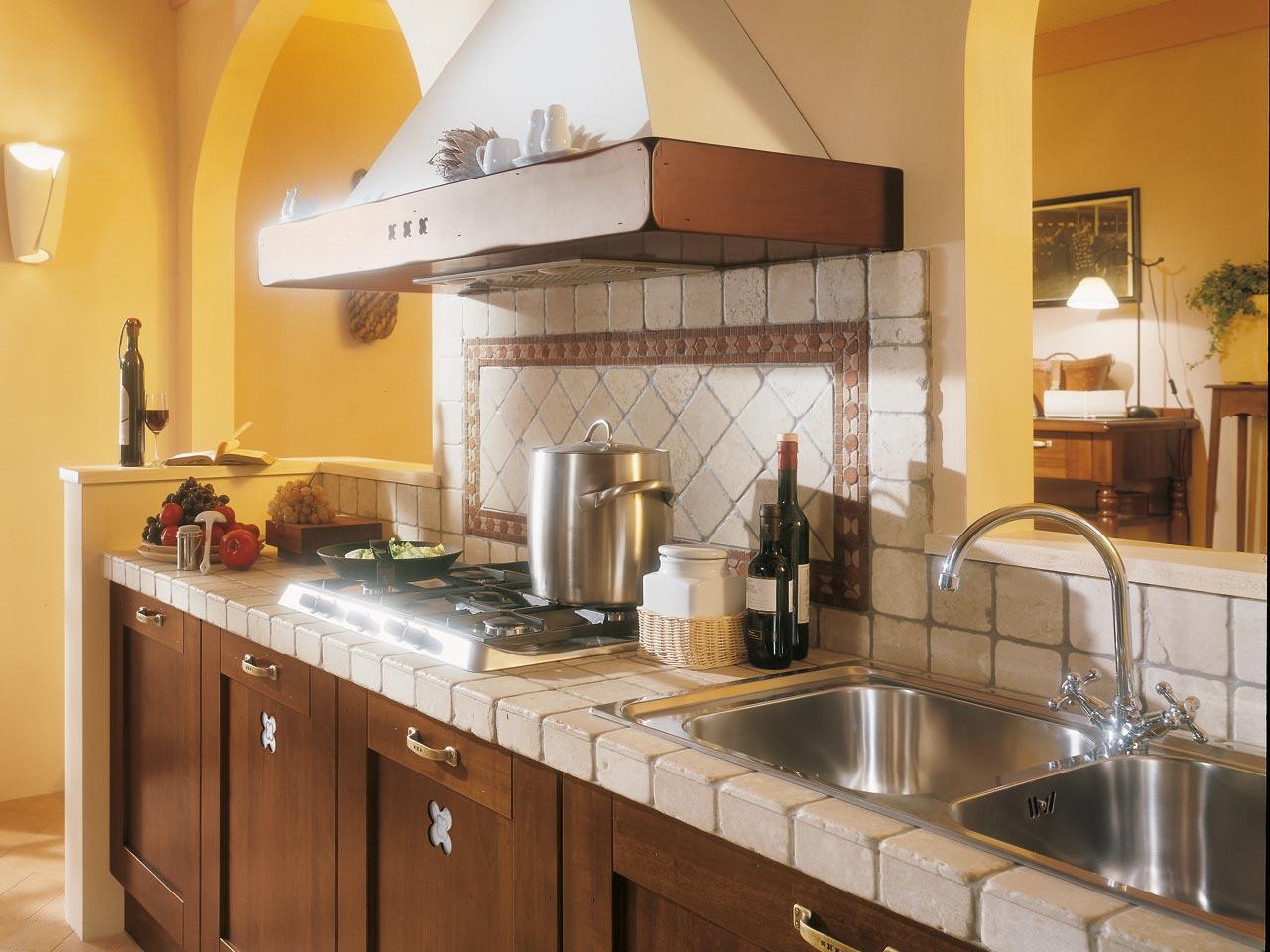 Cucine Finta Muratura Lube. Awesome Cucina Classica Veronica With ...