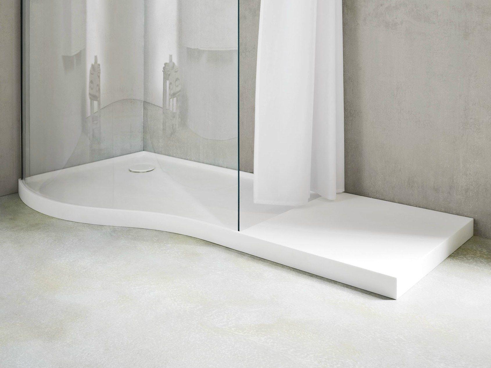 Boma receveur de douche en korakril by rexa design design for Receveur de douche design
