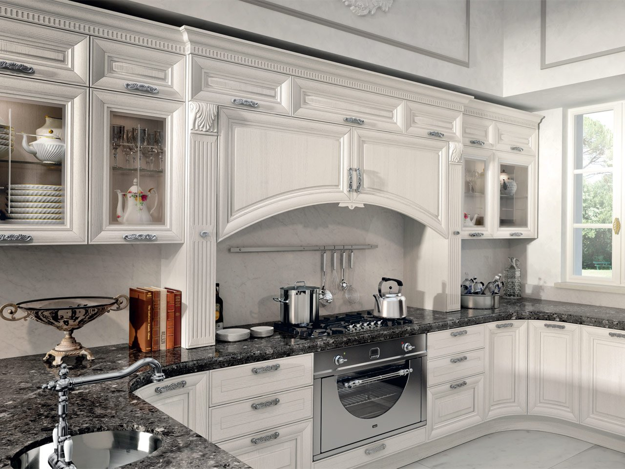 Pantheon kitchen by cucine lube - Cucina lube pantheon ...