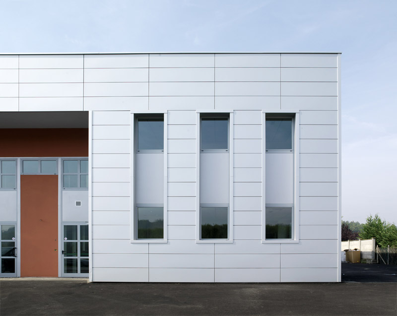 Metal Panel Facade : Metal sheet and panel for facade easymetal™ by prometal