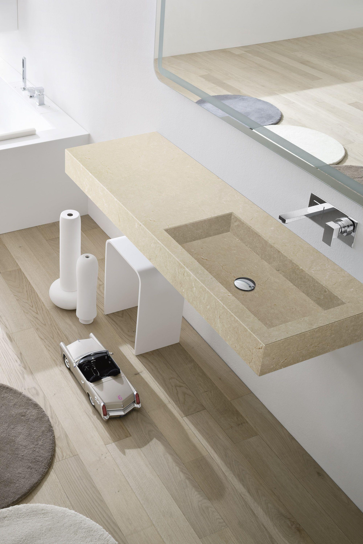 Lavatório retangular suspenso de mesa topo #59503E 2000x3000 Banheiro Com Banheira Integrada