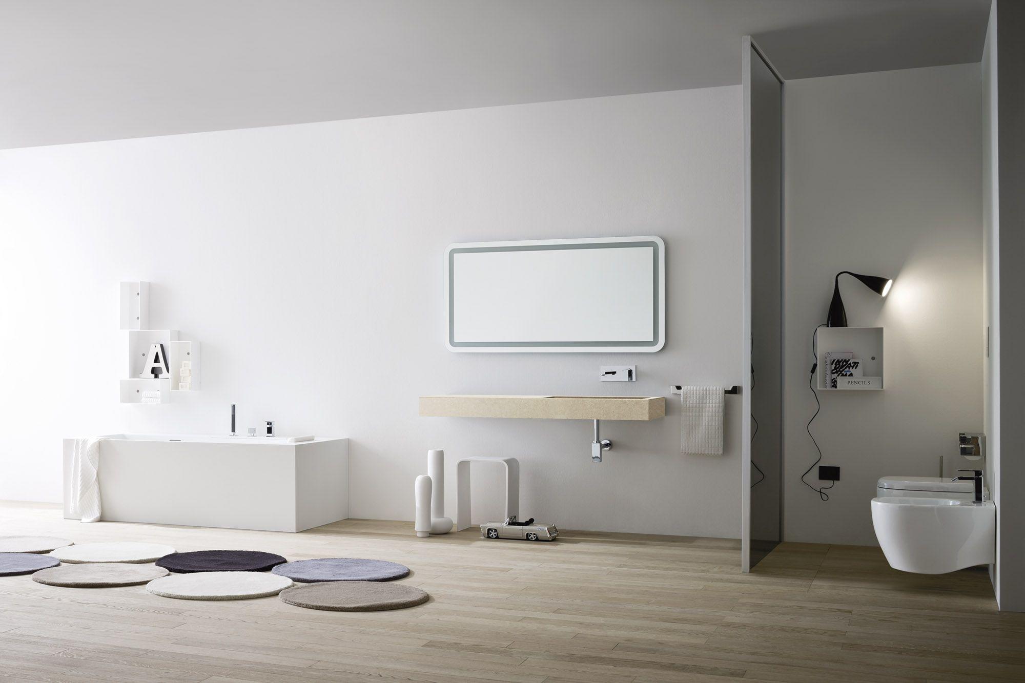 Unico lavabo de piedra by rexa design dise o imago design for Lavabo rectangular