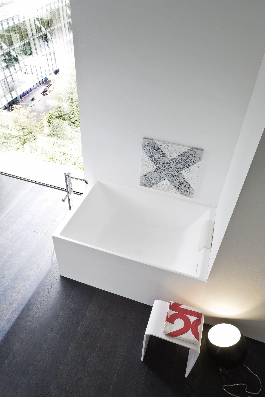 Baignoire rectangulaire en Korakril™ UNICO MINI by Rexa Design design Imago Design