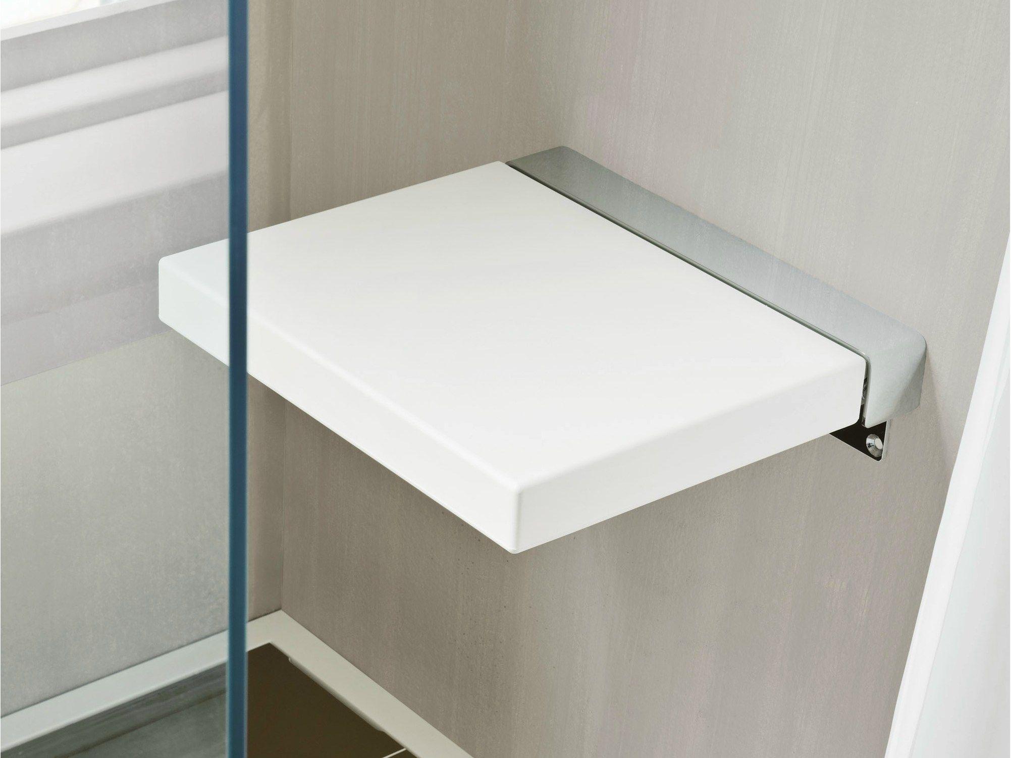 Giano sedile doccia by rexa design design imago design for Sgabello bagno design