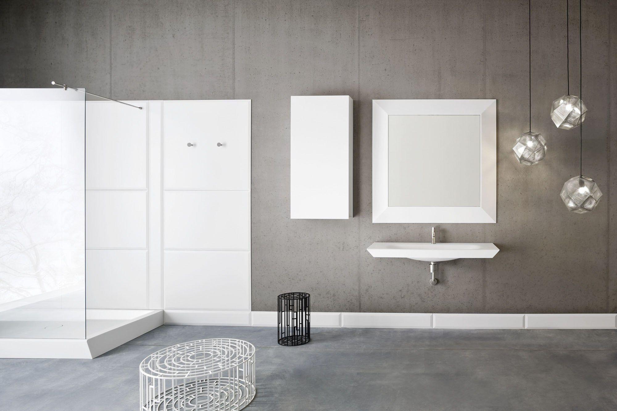 Warp | Wall Cabinet By Rexa Design Design Carlo Dal Bianco, Badezimmer Ideen