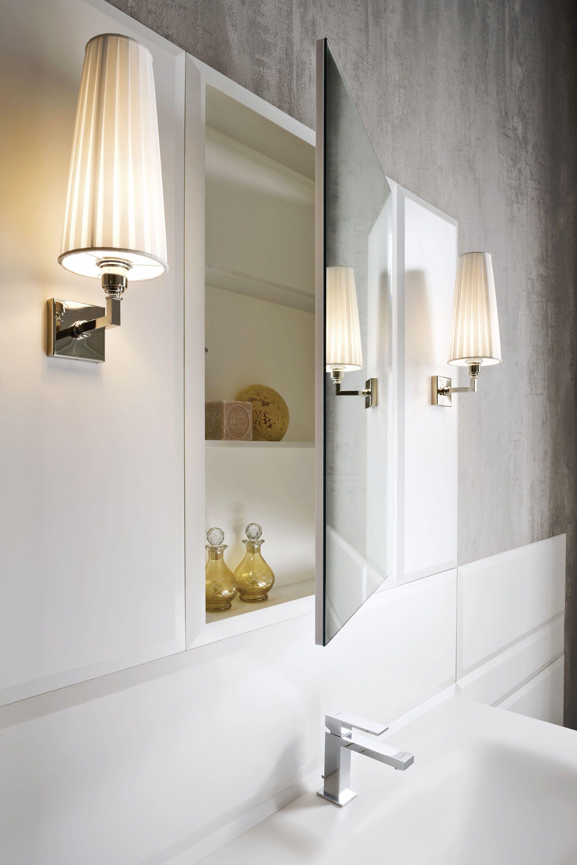 Meuble pour salle de bain en corian avec miroir collection warp by rexa design design carlo - Corian salle de bain ...