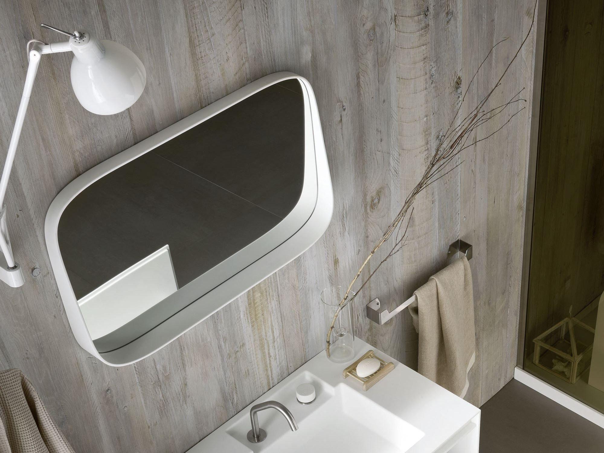 Fonte specchio bagno by rexa design design monica graffeo - Specchio bagno design ...