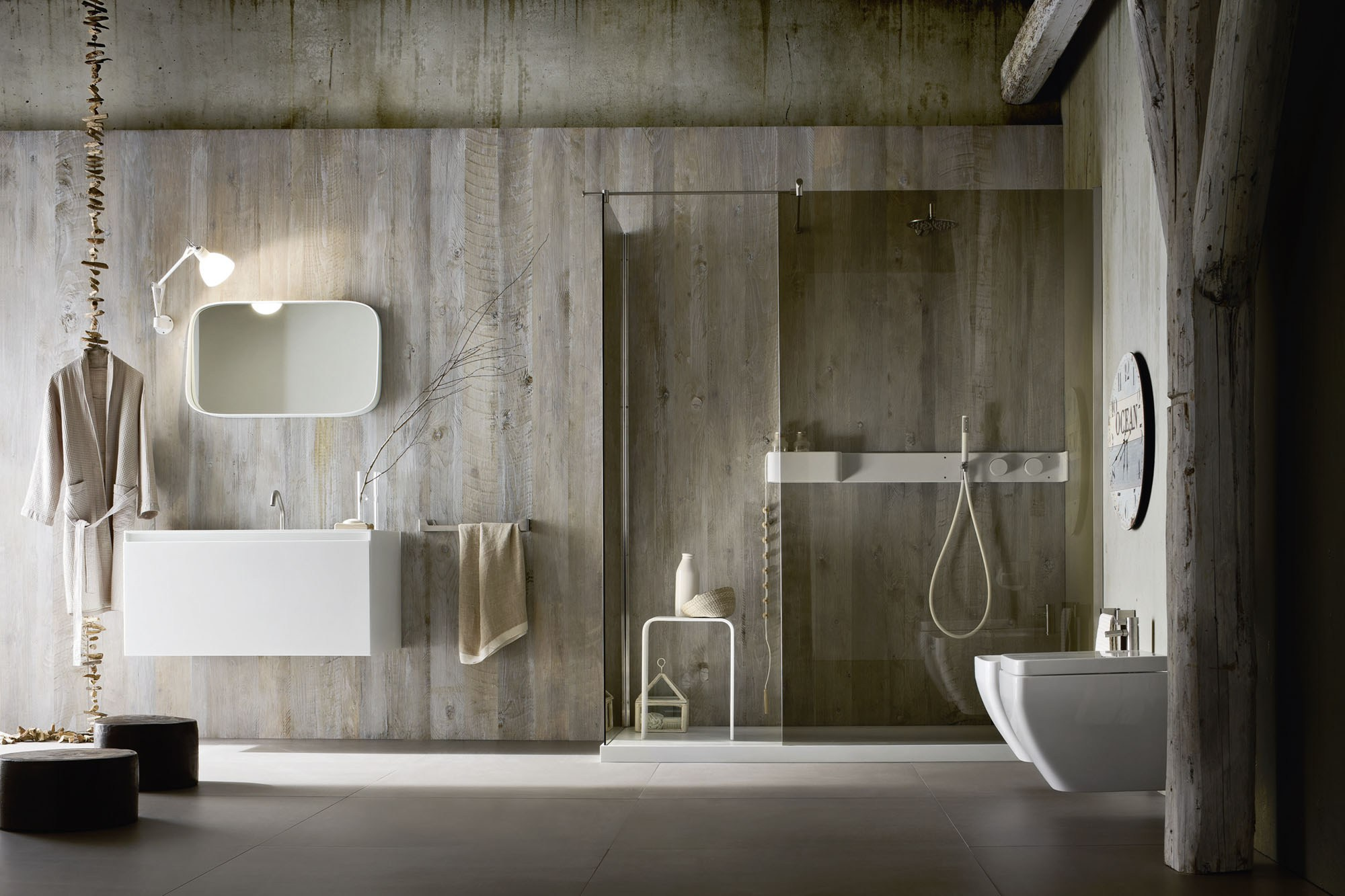 Estantes Para Baño Design:Corian Shower Walls Bathroom
